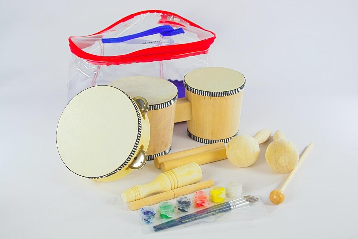 Kit de Bongo para pintar Honsuy 46650