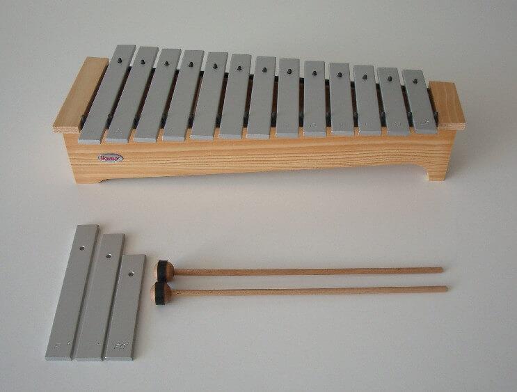Metalófono Soprano Honsuy 49240 Do-La Diatónico