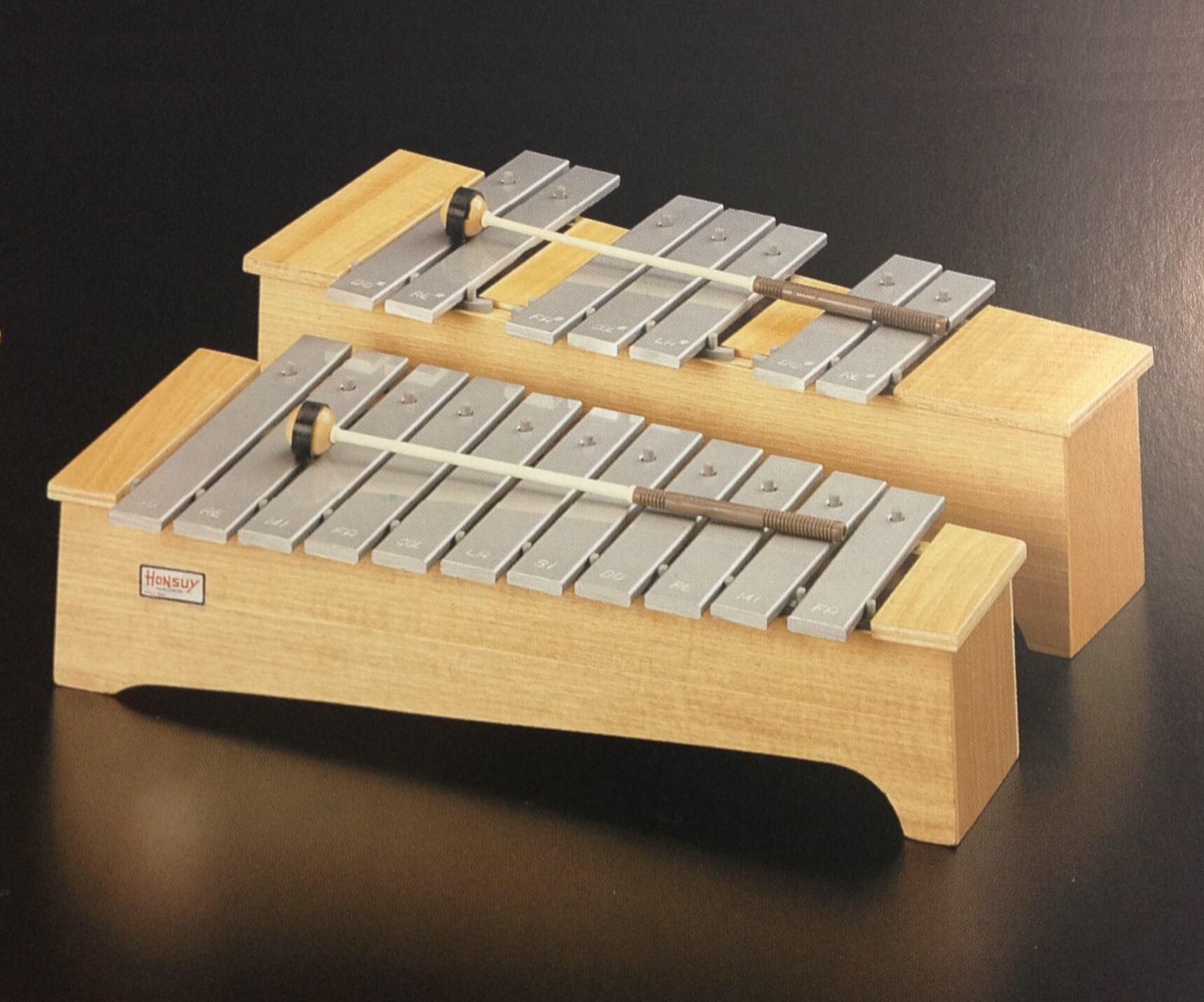 Metalófono Soprano Honsuy 49730 Do-Fa Cromático