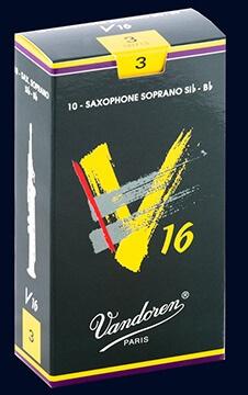 Cañas Saxofón Soprano Vandoren V16