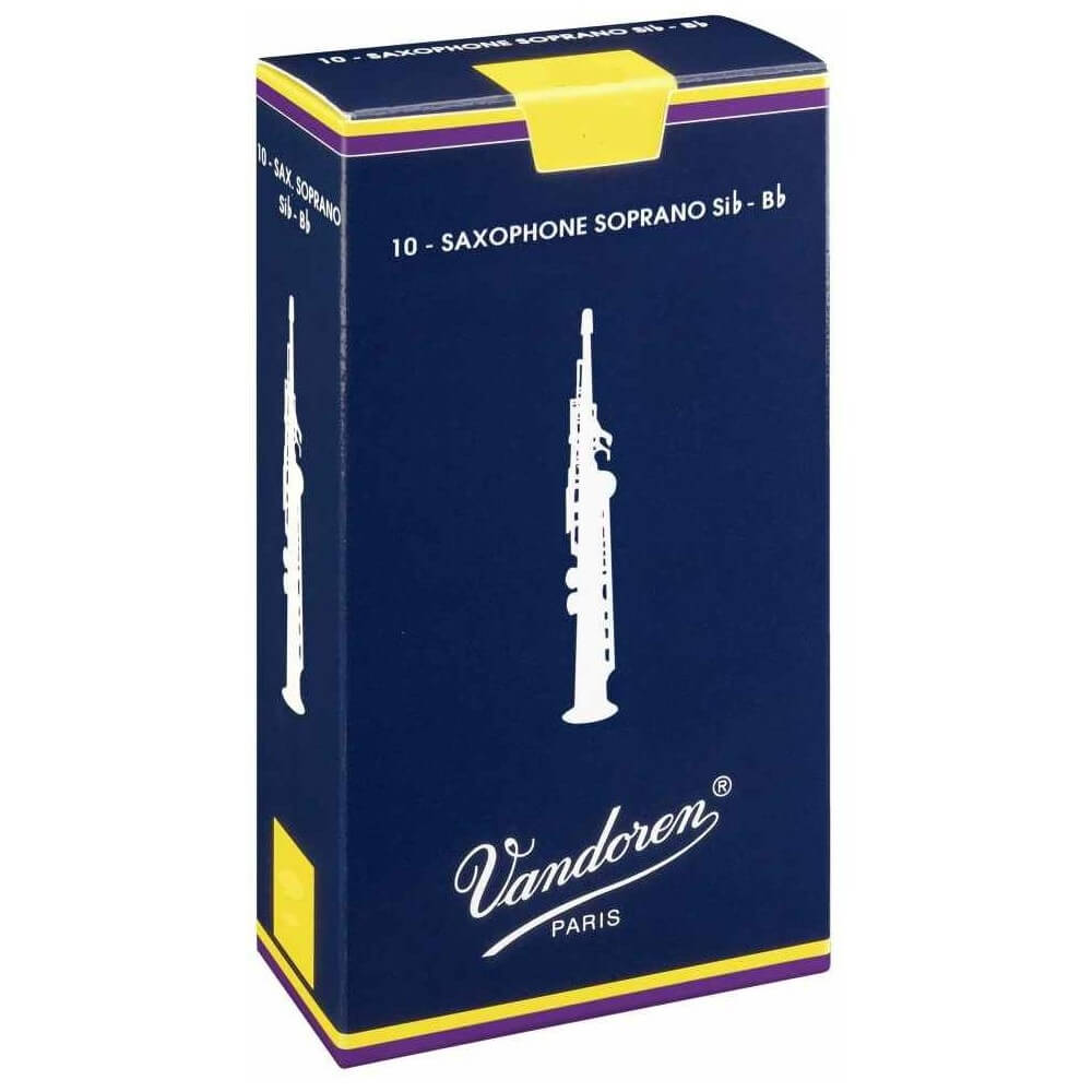 Caña Saxofón Soprano Vandoren Tradicional