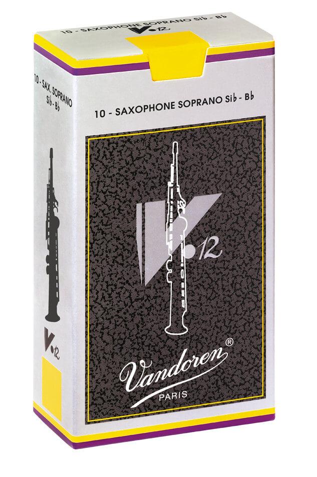 Caña Saxofón Soprano Vandoren V12