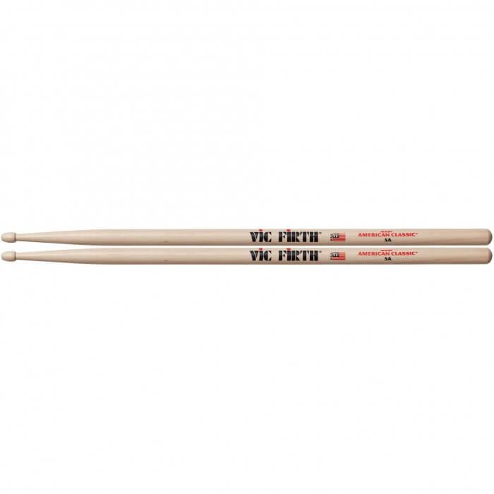 Baquetas Batería (2) Vic-Firth 5-A American Classic