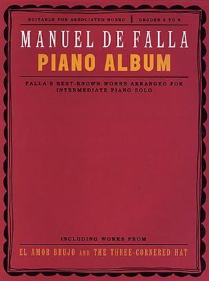 Piano Album Manuel de Falla