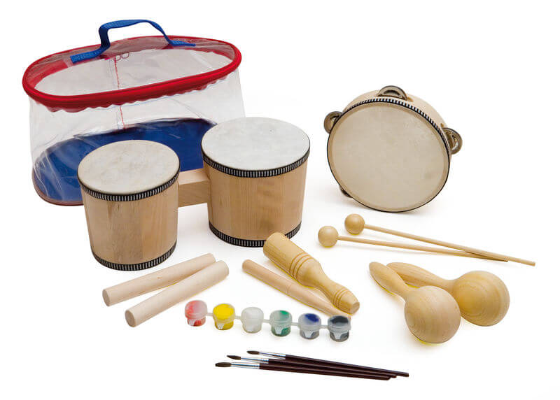 Set Instrumentos Paint your music