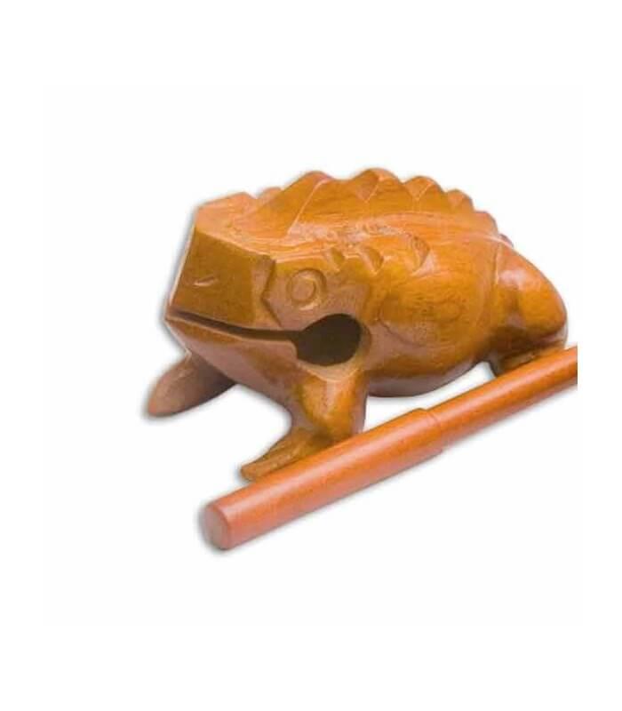 Rana Guiro pequeña Goldon 35600