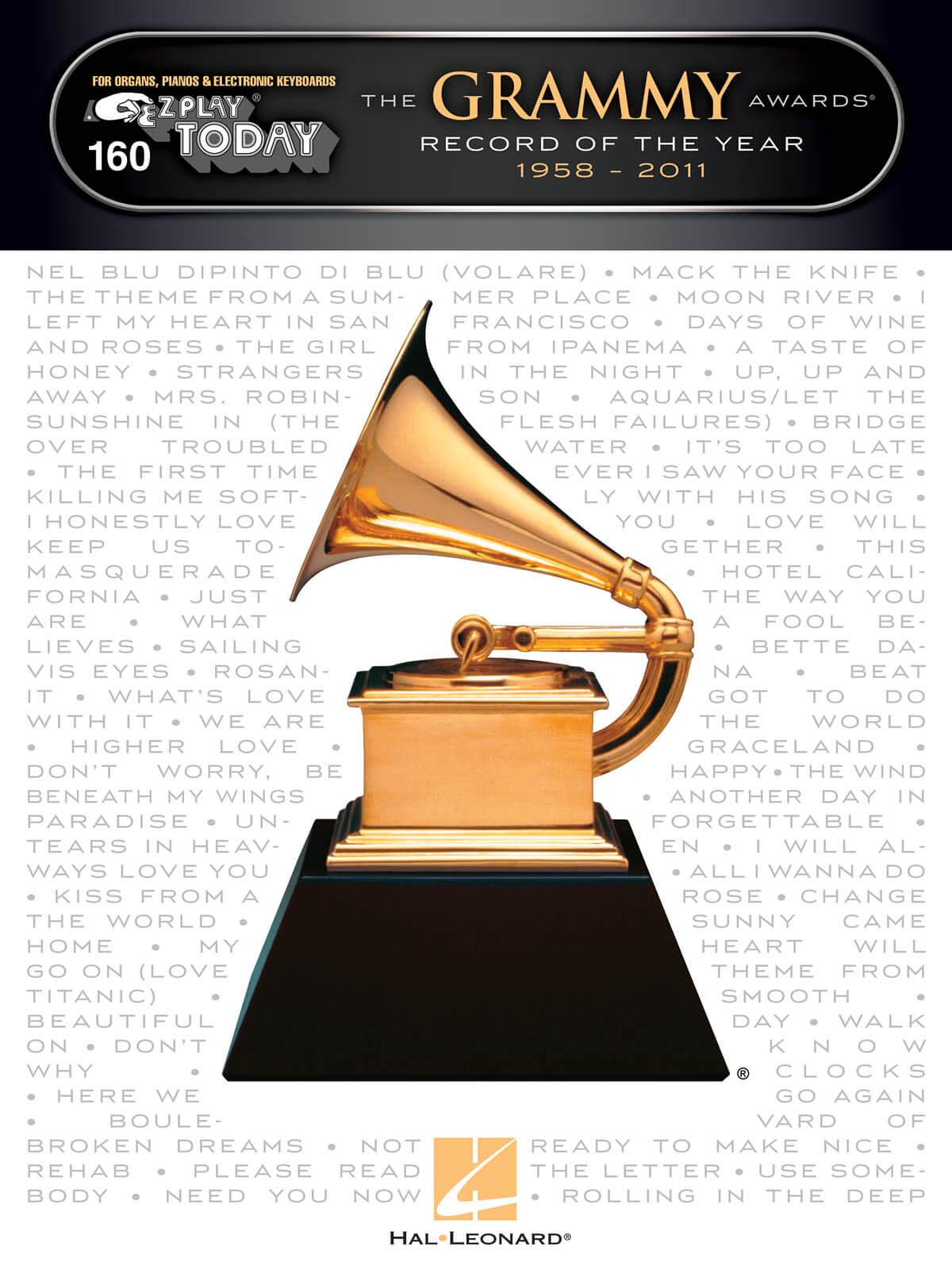 E-Z Play Today Volume 160. Grammy Awards 1958-2011