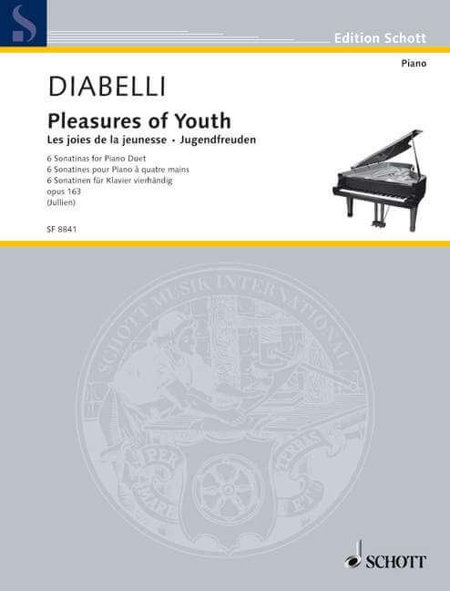 Pleasures of Youth op. 163 Diabelli