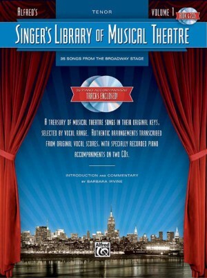 Singer's Library Of Musical Theatre Vol.1 Tenor