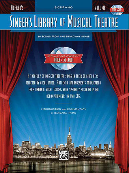 Singer'S Library Of Musical Theatre Vol.1 Soprano