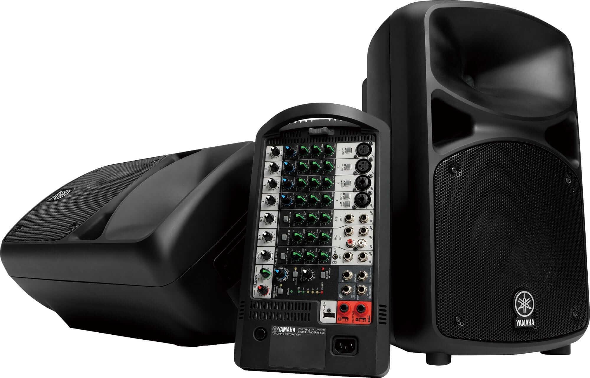 Sistema PA Portátil Yamaha Stagepas 600I E