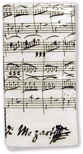 Pañuelos De Papel (Tissues) Mozart