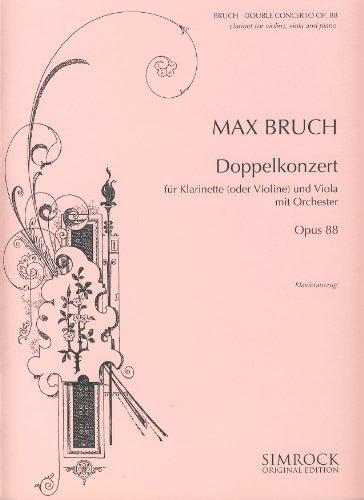 Double Concerto in E minor op. 88.Bruch