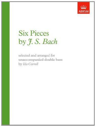 Six unaccompanied pieces