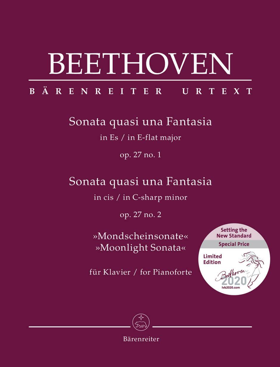 Sonata quasi una Fantasia Op.27 Nº 1 y 2 Beethoven