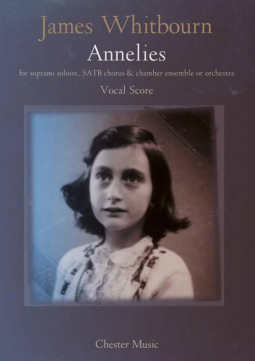 Annelies. Soprano, coro y piano. Whitbourn