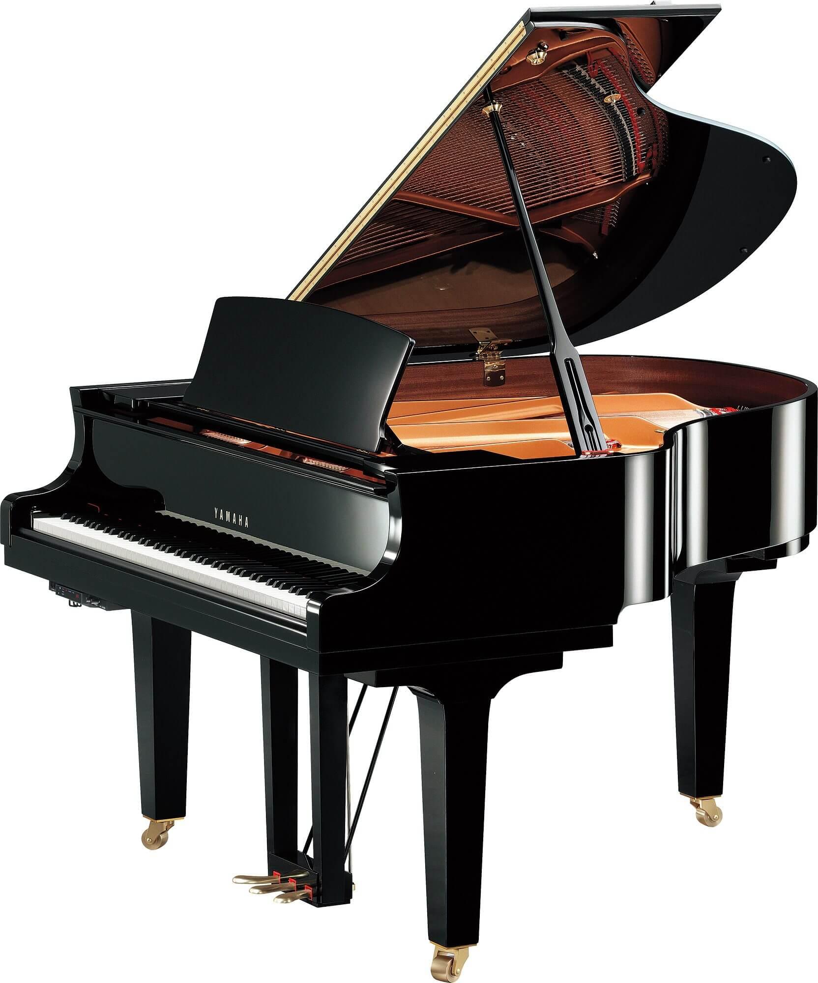 Piano de Cola Transacoustic Yamaha Serie C1X TA2