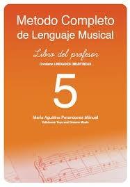 Método completo del lenguaje musical 5 Profesor .Perandones