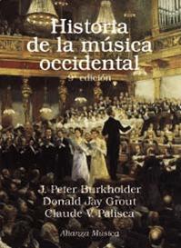 Historia De La Musica Occidental ultima edicion 2019