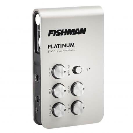 Pastilla Guitarra Acústica Fishman Pro-Plt-301 Platinum Stag