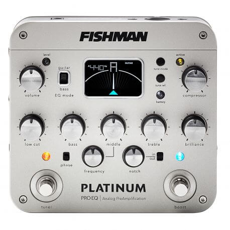 Pastilla Guitarra Acústica Fishman Pro-Plt-201 Platinum Pro