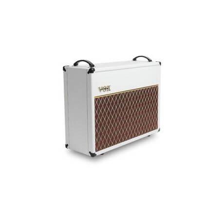Caja Acústica Guitarra Vox V212C White Bronco