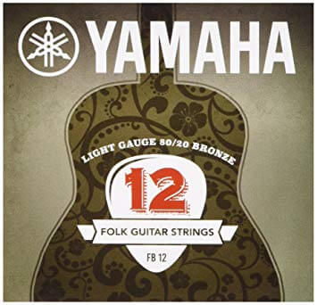 Juego De Cuerdas Guitarra Acústica Yamaha FB12. 12-53