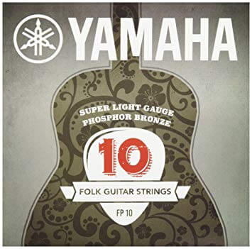 Juego de Cuerdas Guitarra Acústica Yamaha FP10. 10-47