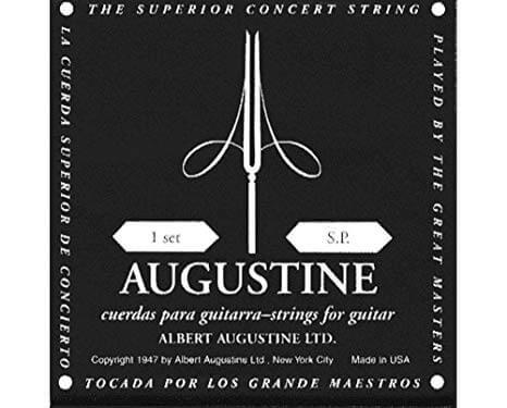 Juego de Cuerdas Guitarra Clásica Negro Augustine