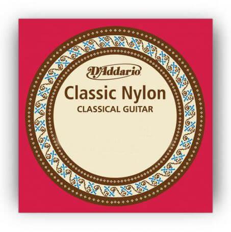 Cuerdas Guitarra Clásica D'Addario J27. Tensión media