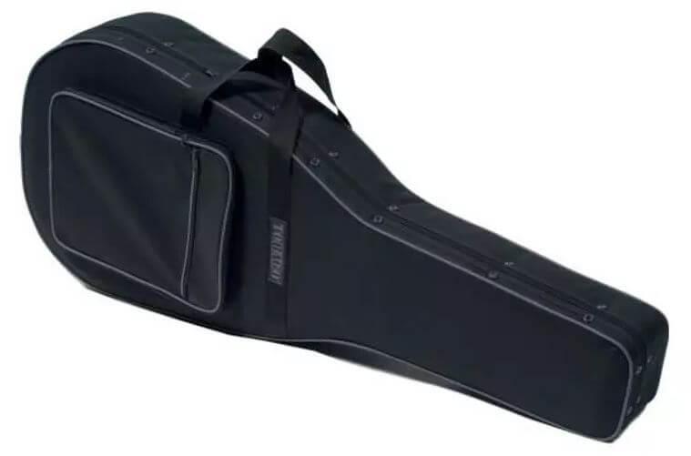 Estuche Guitarra Clásica Tobago Semi-Rígido Negro
