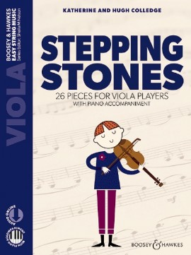 Stepping Stones. Viola -Piano+audio Acc.New Edition