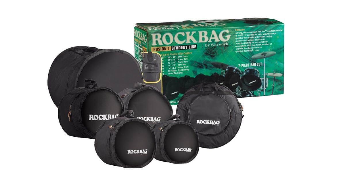 Funda Bateria RockBag Student RB22900B / Set Batería Fusion