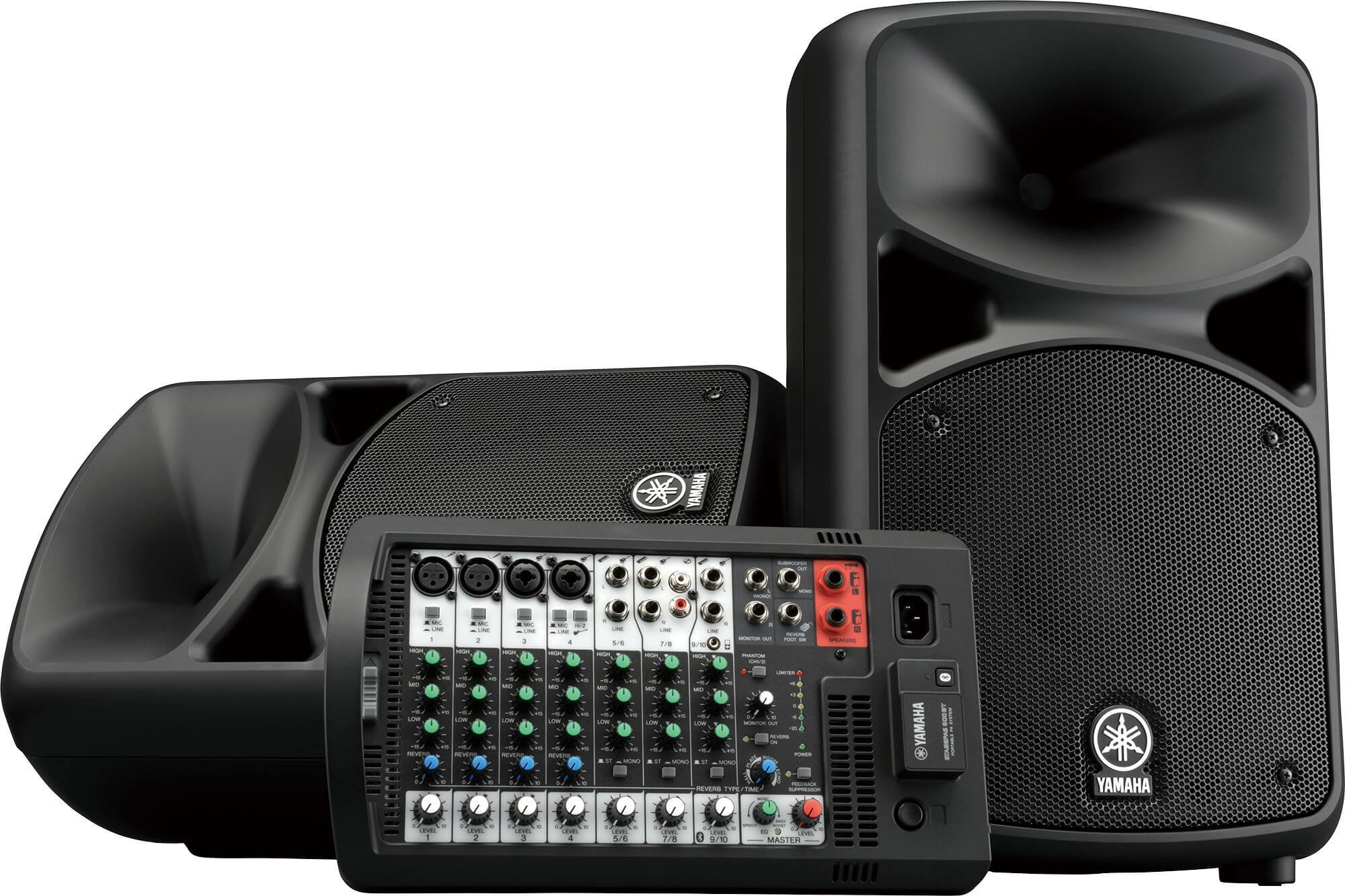 Sistema PA portátil Stagepas 600BT