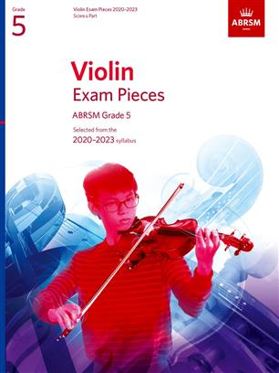 Violin Exam Pieces 2020-2023, ABRSM Grade 5, Score & Part