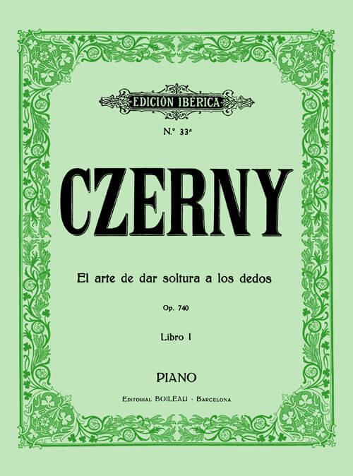 El arte de dar soltura a los dedos Op.740 Vol.I
