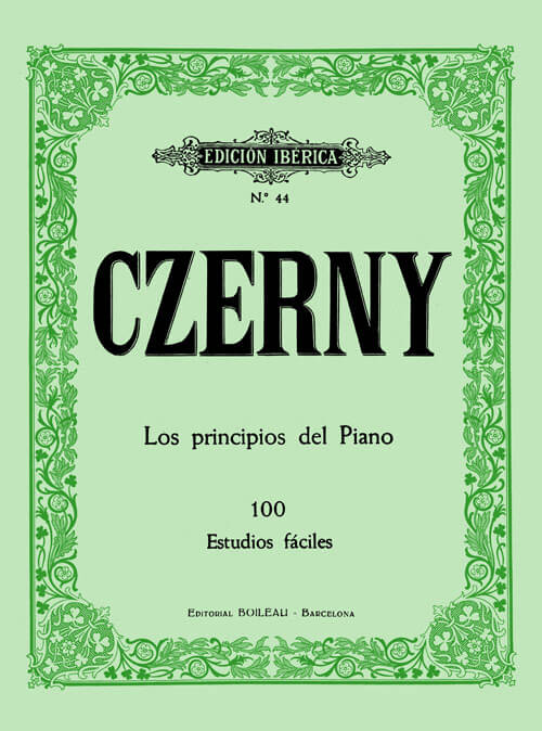 Los principios del piano 100 Est. Fáciles .Czerny