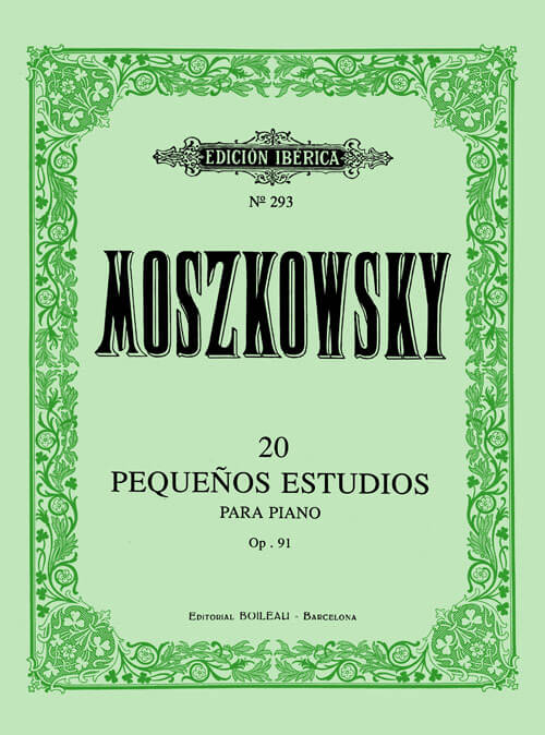 20 Pequeños estudios Op.91 Moszkowsky