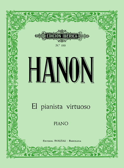 El pianista virtuoso, 60 Ejerc.Hanon