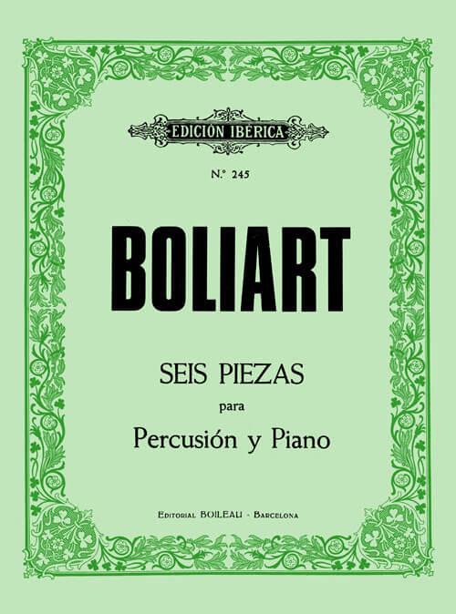 6 Piezas para percusión y piano