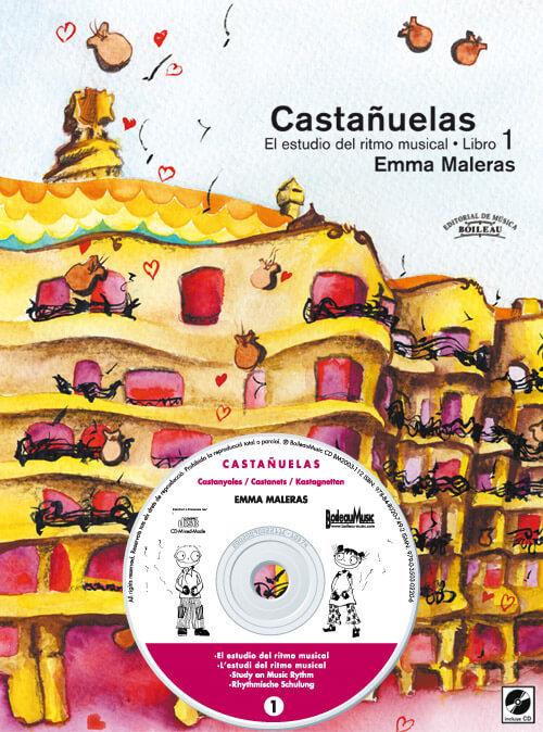 CASTAÑUELAS 1- El estudio del ritmo musical + CD