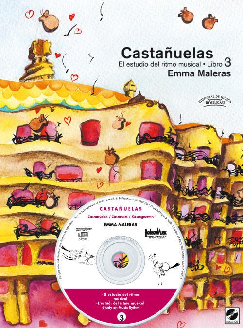 CASTAÑUELAS 3- El estudio del ritmo musical + CD