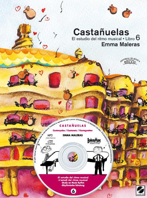 CASTAÑUELAS 6- El estudio del ritmo musical. + CD