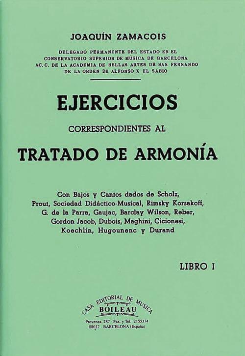 Ejercicios armonía Vol.I