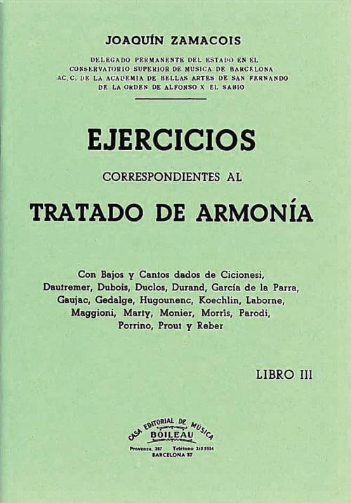 Ejercicios Armonía Vol.III