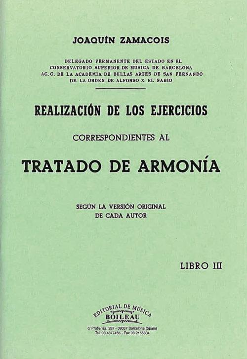 Realización Ejercicios de Armonía Vol.III