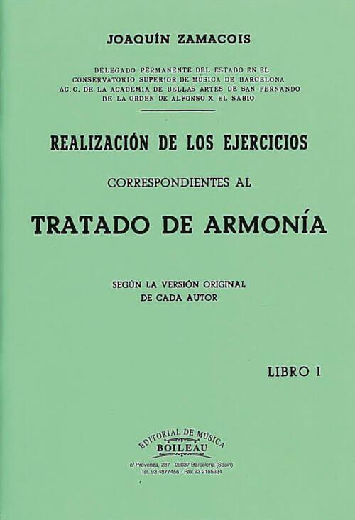 Realización ejercicios de Armonía Vol.I