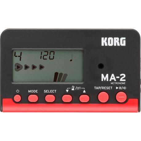 Metrónomo Korg MA-2BKRD