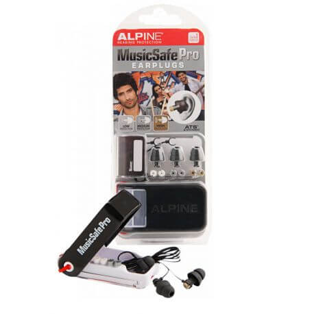 Protectores Auditivos Alpine Music Safe Pro Negro