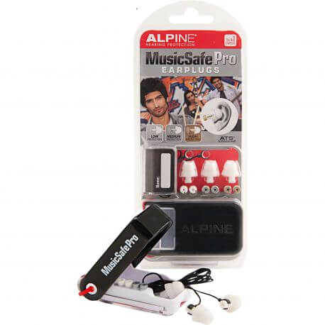 Protectores Auditivos Alpine Music Safe Pro Blanco
